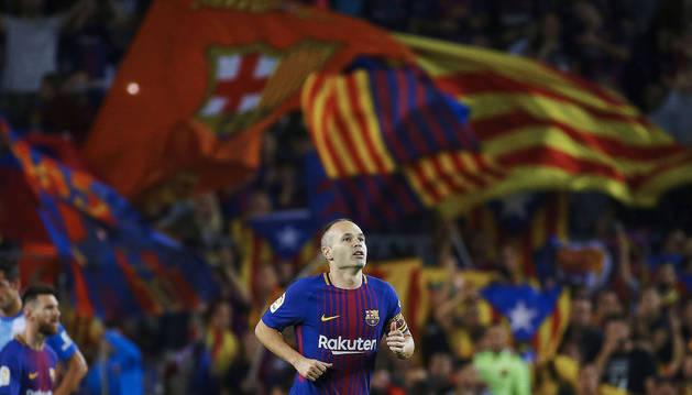 Andrés Iniesta marcó el segundo gol del Barça