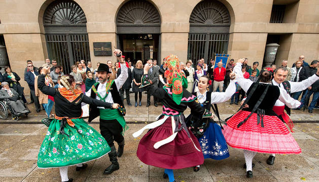 Este sábado, ante el Palacio de Navarra