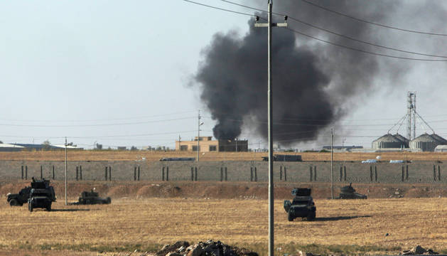 Un ataque aéreo mata a 40 miembros del EI en el oeste de Irak