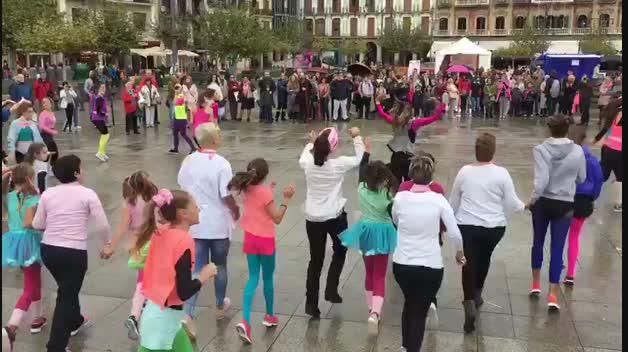 Acto de Saray en la Plaza del Castillo