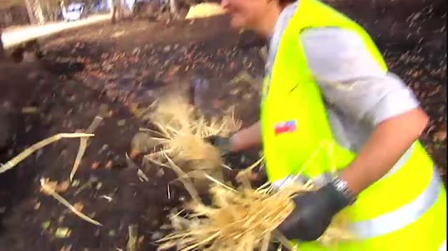 Apagado el fuego en Galicia, se teme que las lluvias arrastren ceniza al mar