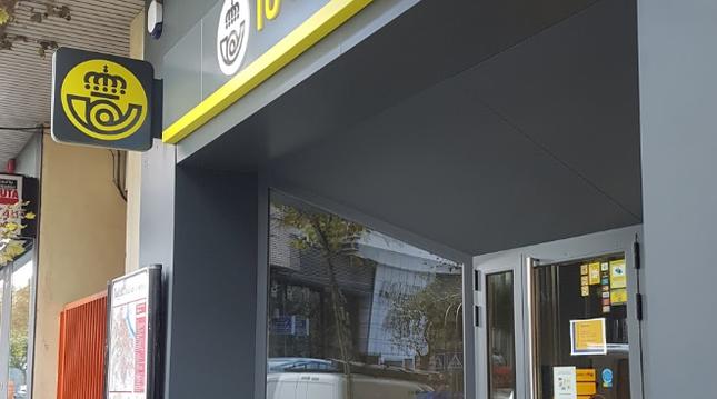 Correos tiene en navarra 12 terminales autom ticos de for Oficina turismo tudela