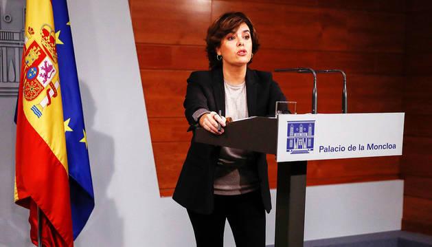 El Gobierno ve difícil un gesto de la Generalitat que permita revisar el 155