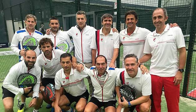 El conjunto masculino del Club de Tenis