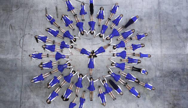 El coro infantil  Prague Philarmonic Children's Choir, de Chequia, está formado por 36 miembros.