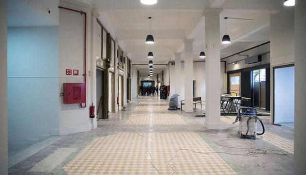 La antigua estación de autobuses de Pamplona