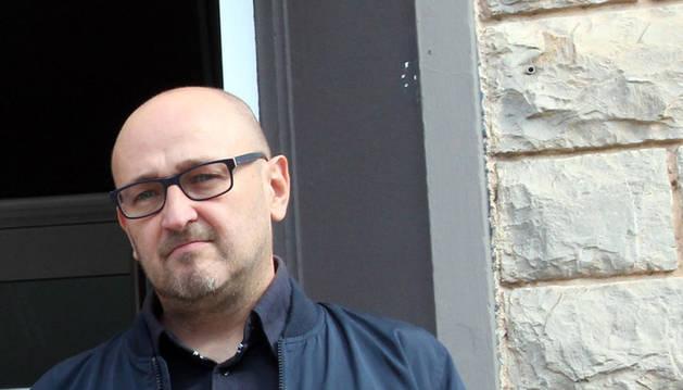 Imagen de Julio Mazarico, presidente del Cine Club Muskaria, en una imagen de archivo.