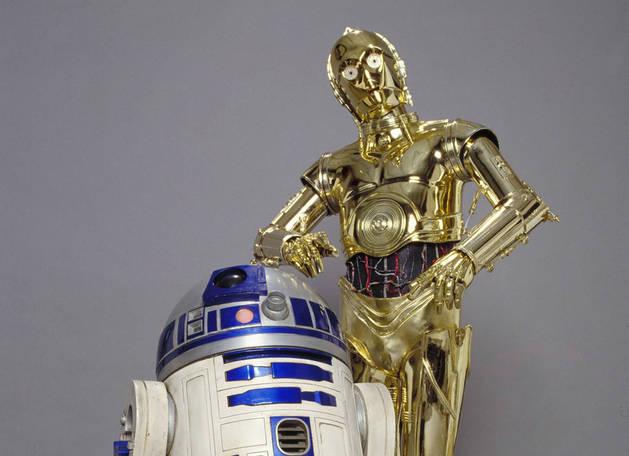 Imagen de R2-D2 y C-3PO, personajes de 'Star Wars'.