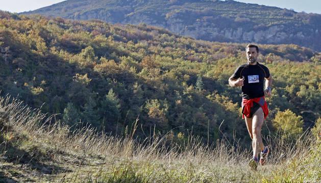 Uno de los corredores durante la pasada edición