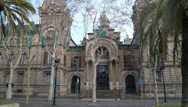 Imagen de la Audiencia de Barcelona.