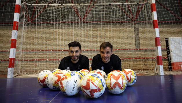 Los jugadores del Aspil-Vidal, Rubén Lemos 'Rubi' y David García, con 3 y 5 goles, respectivamente, acumulan 8 de las 16 dianas que suma su equipo.