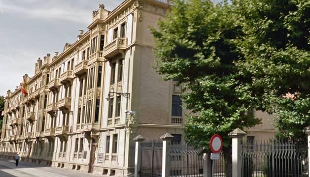 La sede del Ministerio de Defensa en Navarra