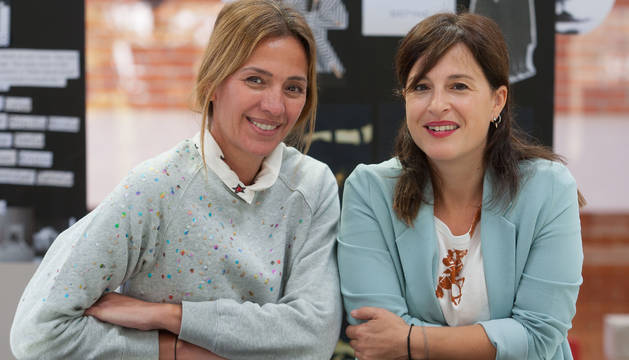 Laura Herrera y Raquel Rodríguez, fundadoras de Pelotari Project