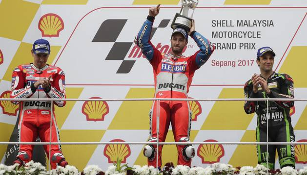 Valencia decidirá el título de Moto GP entre Márquez y Dovizioso