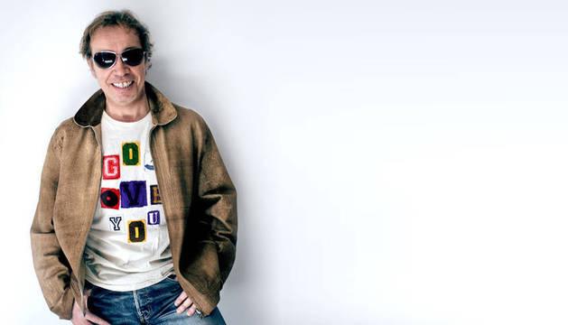 Imagen de archivo del líder de Nacha Pop, Nacho García Vega