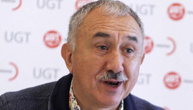 Imagen del secretario general de UGT, Pepe Álvarez.