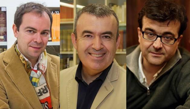 Javier Sierra, Lorenzo Silva y Javier Cercas