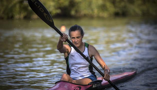 Entrevista con Amaia Osaba, la navarra número dos del mundo en aguas abiertas