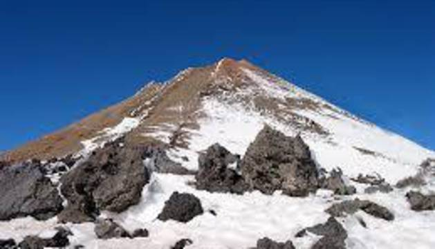 El volcán Teide
