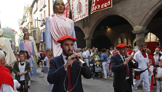 Imagen de la marcha a Vísperas de las fiestas de este año, el pasado 11 de septiembre.