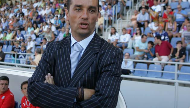 José Luis Oltra, entrenador del Granada.