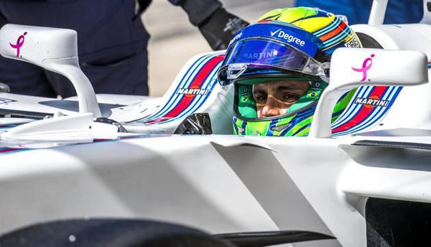 Massa durante el GP de USA en Austin esta temporada