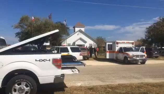 La iglesia en la que ha sucedido el tiroteo