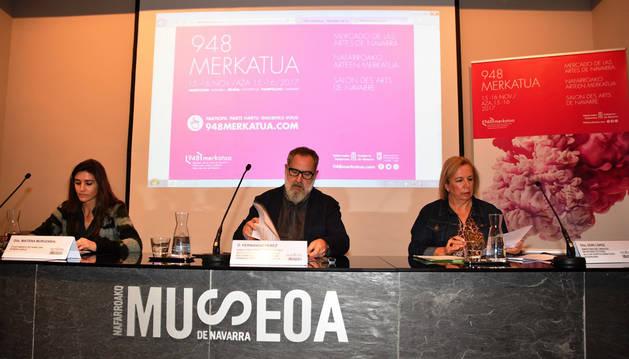 Pamplona estrena '948 Merkatua, Mercado de las Artes de Navarra'