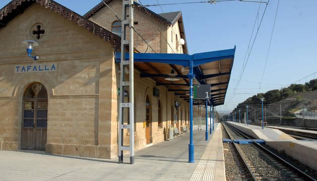 Estación de tren de Tafalla