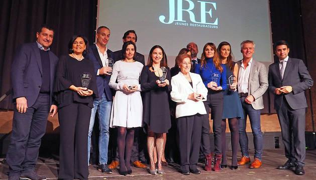 Ganadoras de los I Premios Gastronomía en Femenino.