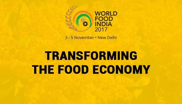 Feria Internacional de Alimentación en Nueva Delhi
