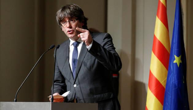 ERC y la CUP ignoran la lista unitaria reclamada por Puigdemont