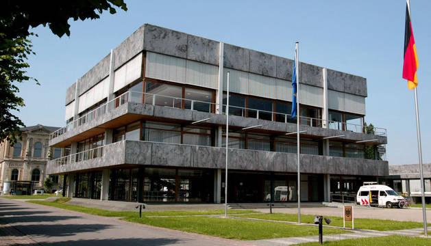 Exterior del Tribunal Constitucional de Alemania.