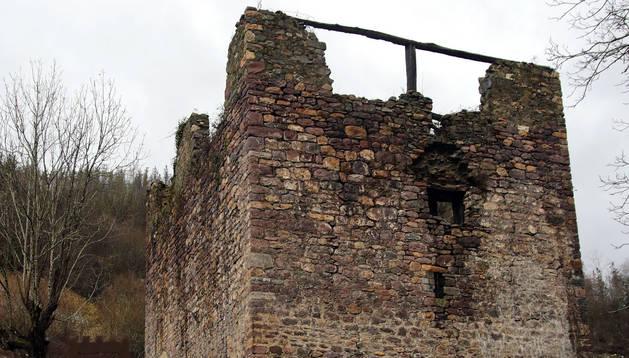 El Ejecutivo foral destinará 556.572€ a restaurar la torre medieval de Ibero en Leitza