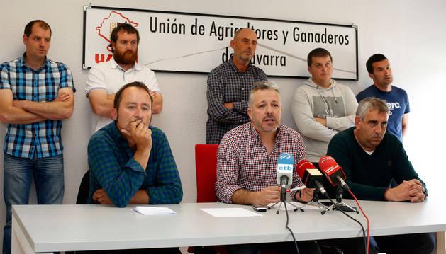foto Junta Permanente de UAGN compareció ante los medios cuando trascendió la investigación.