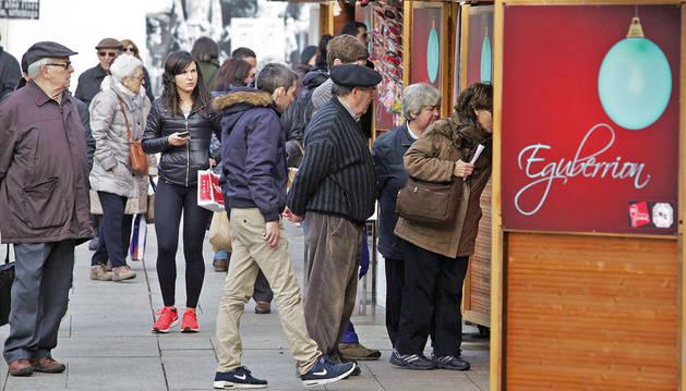 Imagen de la Feria de Navidad volverá a acoger 28 casetas de venta de productos y difusión de actividad solidaria.