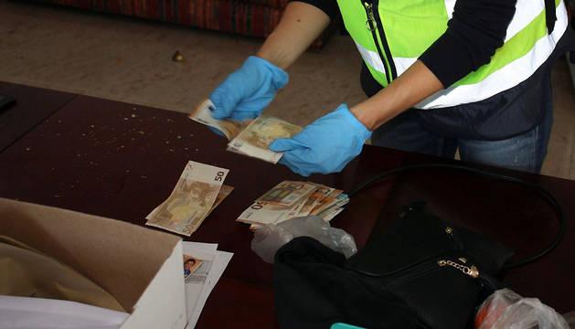 Detalle de una operación antidroga desarrollada por la Policía Nacional.