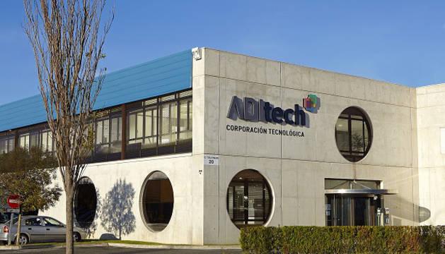 Edificio de la sede de Aditech.