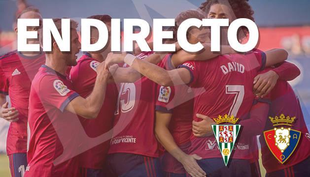 El Córdoba-Osasuna, en directo