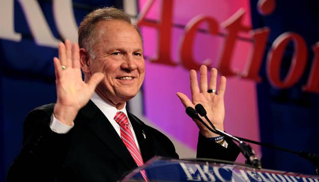 El candidato Roy Moore.