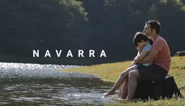 Captura del vídeo de Turismo Navarra.
