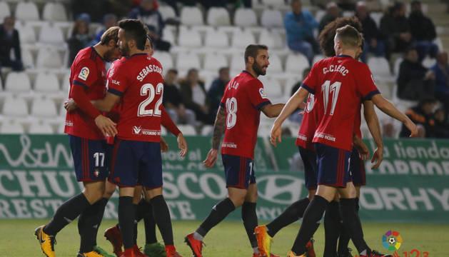 Osasuna vuelve a ganar en Córdoba y suma 12 partidos imbatido