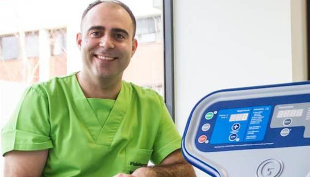 Miguel Moreno, presidente de la Asociación Española de Fisioterapeutas del Deporte