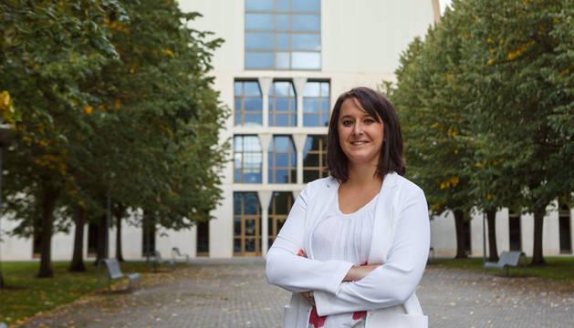 La investigadora Mirentxu Marín