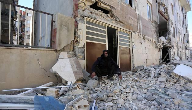 Un terremoto de 7,3 grados afecta a Irak e Irán