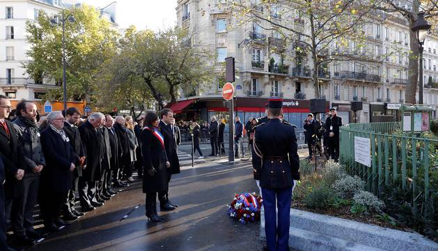 Segundo aniversario de los atentados del 13-N en París