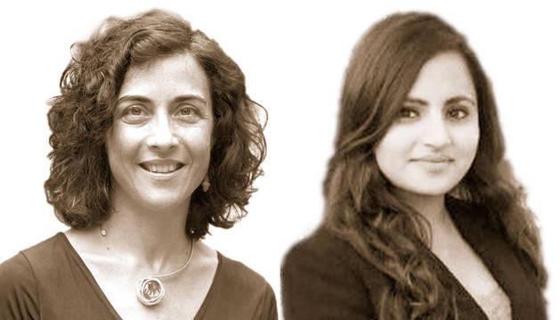Imagen de Ariadna García y Samikshya Siwakoti.