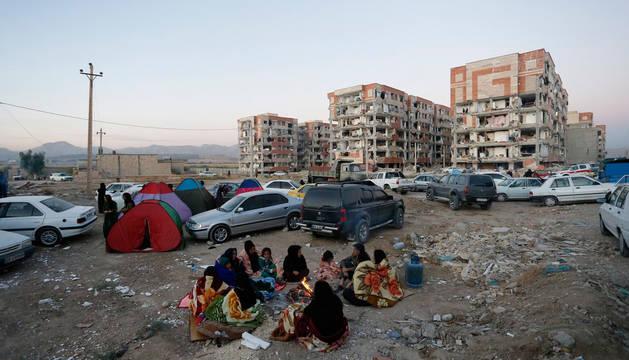 Más de 200 muertos y 1.600 heridos por un terremoto en la frontera entre Irak e Irán