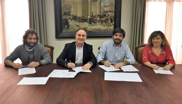 Convenios de colaboración entre Ayuntamiento y ETI