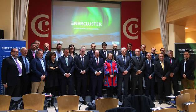 Presentación de Enercluster, clúster eólico de Navarra.